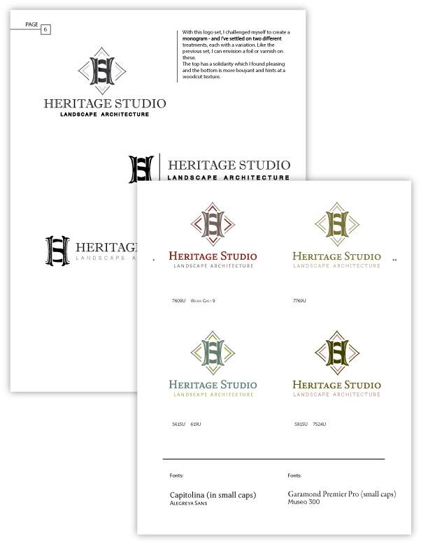 landscape architect branding