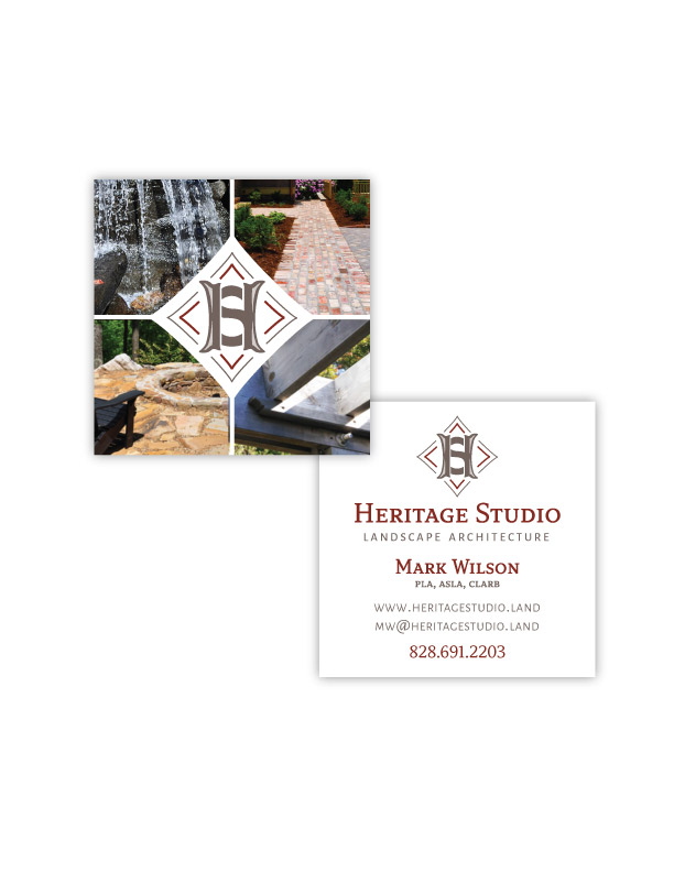 landscape architect business cards