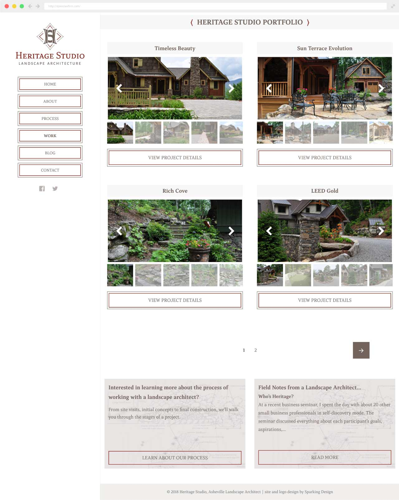 landscape architect website